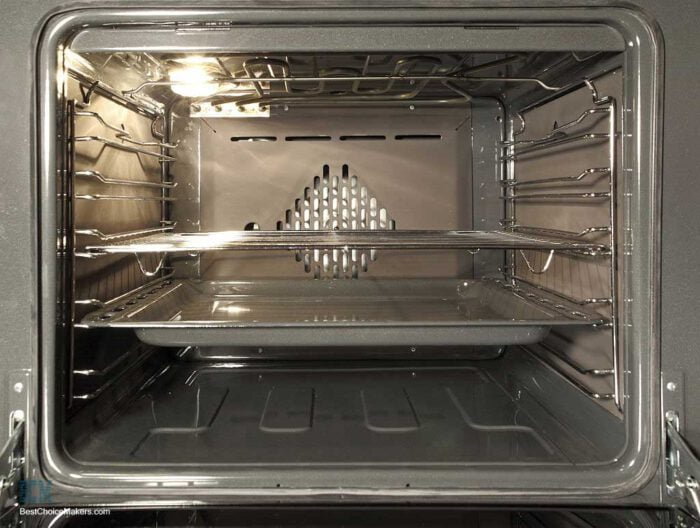 cleaning oven racks with ammonia