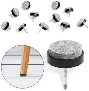 Furniture feet protectors wood floors