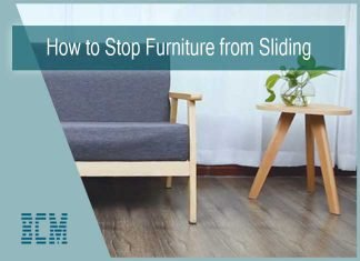 how to stop furniture from sliding on laminate floors