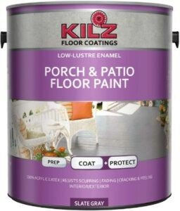 Best paint for wooden porch floor