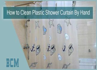 How to Clean a Plastic Shower Curtain By Hand
