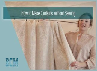 How to Make Curtains without Sewing