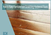 How to Keep Furniture from Scratching Hardwood Floors