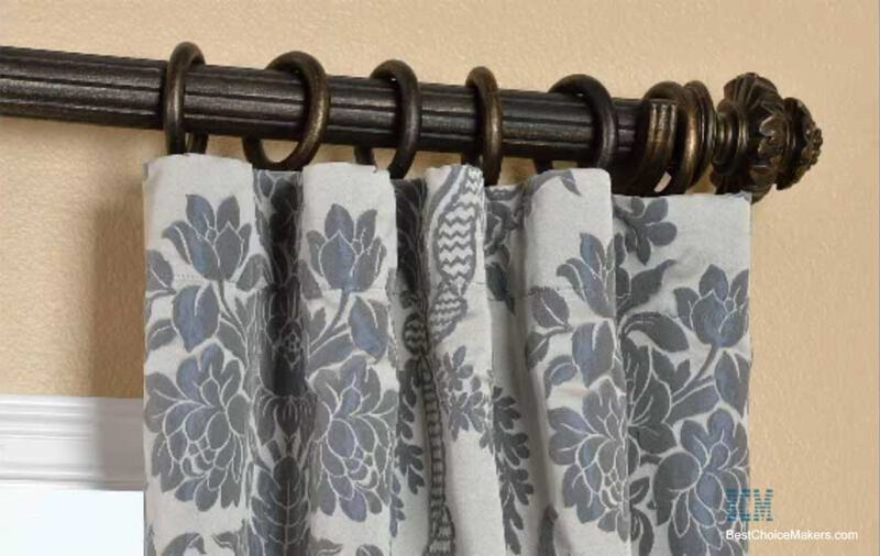 How To Hang Curtains With Rings And Hooks