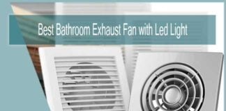Best Bathroom Exhaust Fan with Led Light and Heater