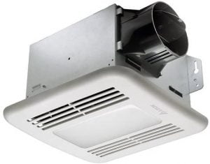 Best bathroom exhaust fan with light and humidity sensor