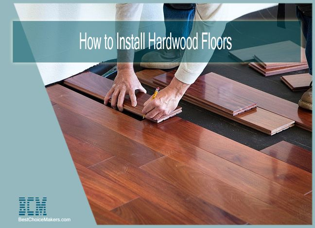 How to Install Hardwood Floors on Uneven Subfloor