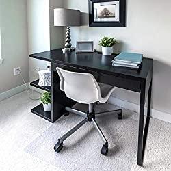 Floortex Polycarbonate Chair Mat for Plush Pile Carpets - Best Chair Mat for Plush Carpet