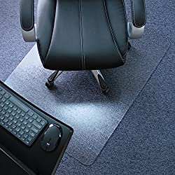Marvelux Heavy Duty Polycarbonate Office Chair Mat for for Low, Standard & Medium Pile Carpet