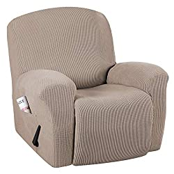 Oversized large Recliner Chair Covers with side pockets